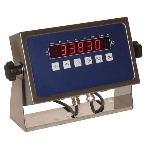 Indicatore di peso in acciaio inox. Mod. IP308I